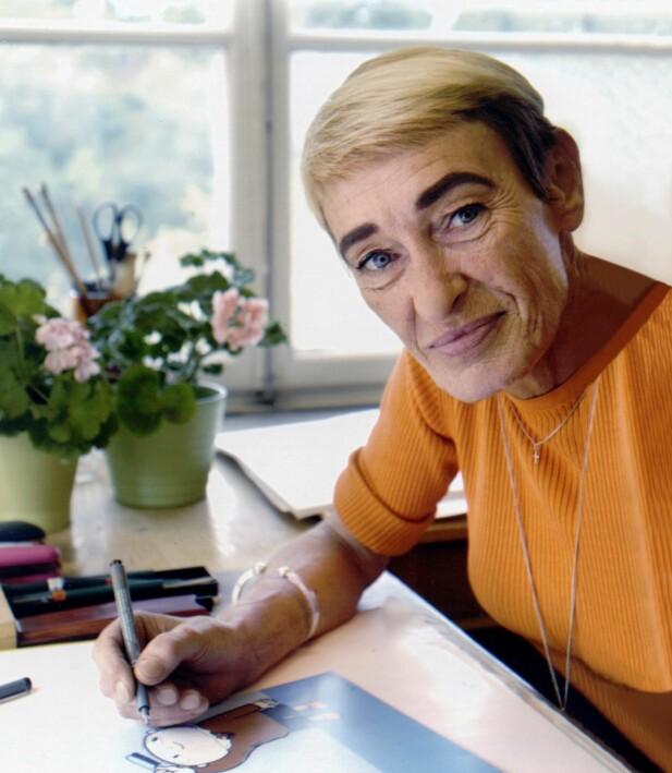 Gjennom figuren Albert Åberg har Gunilla fått gi uttrykk for sine holdninger. Og via Albert skapte hun blant annet uttrykket «jeg skal bare».
