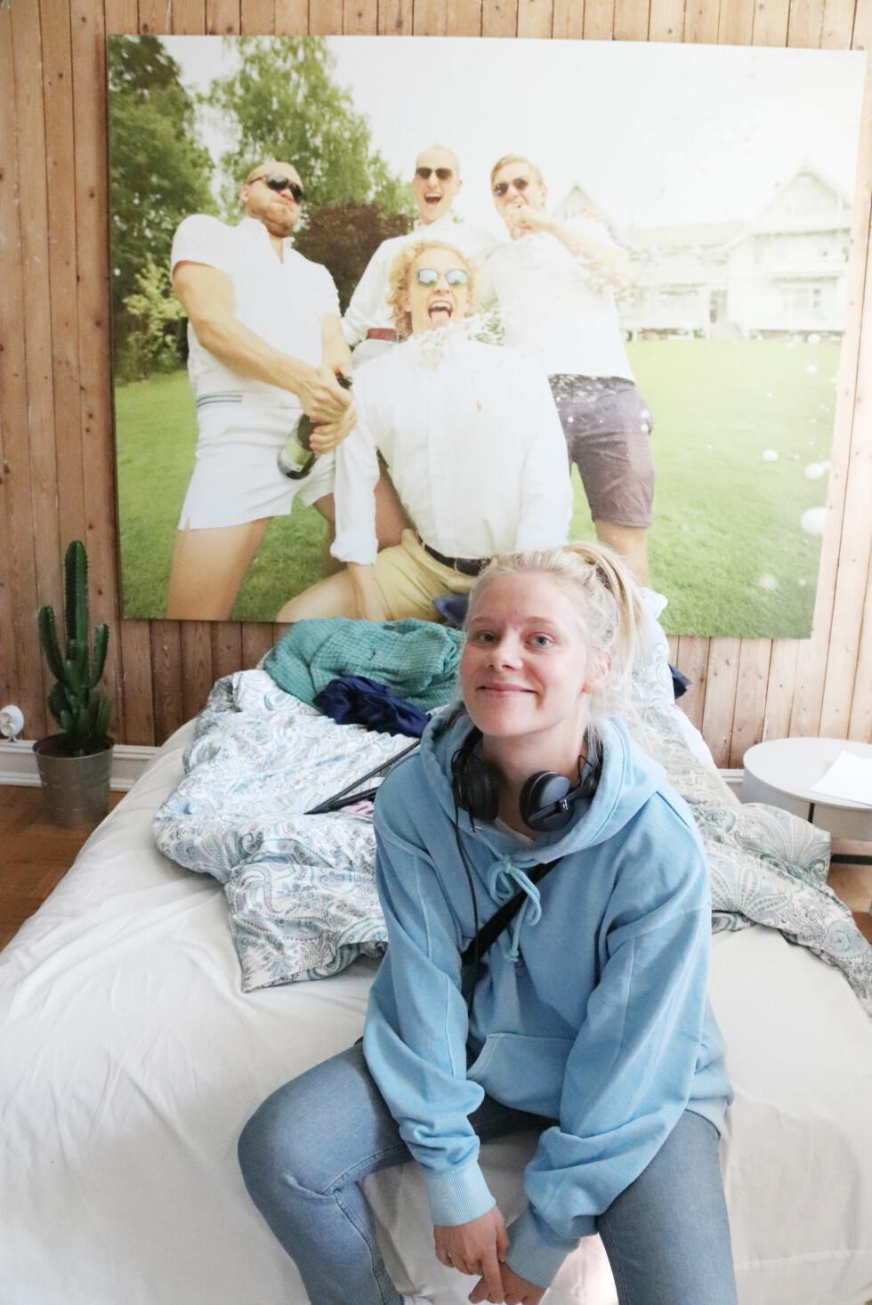 TALENTFULL: Regissør Caroline Johansen får mye skryt av sine kolleger i «Hvite gutter»-crewet. FOTO: Malini Bjørnstad // KK