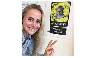 Tale (38) sa opp jobben for å leve av Snapchat: - Veldig skummelt