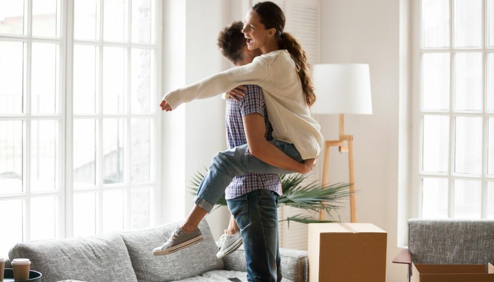 SAMBOERE: Skal du betale leie hos kjæresten din, eller bo helt gratis? FOTO: NTB Scanpix