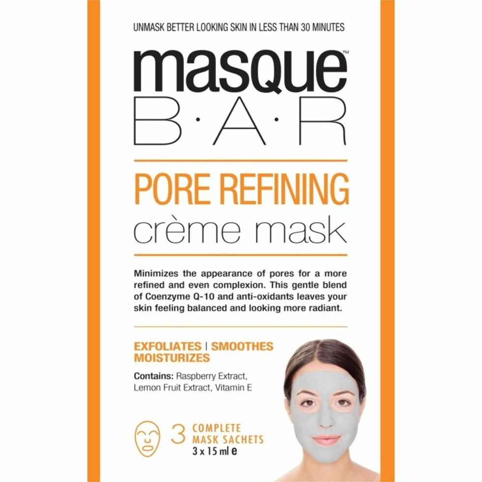 Ansiktsmaske fra Masque Bar |129,-| https://www.coverbrands.no/pore-refining-creme-mask
