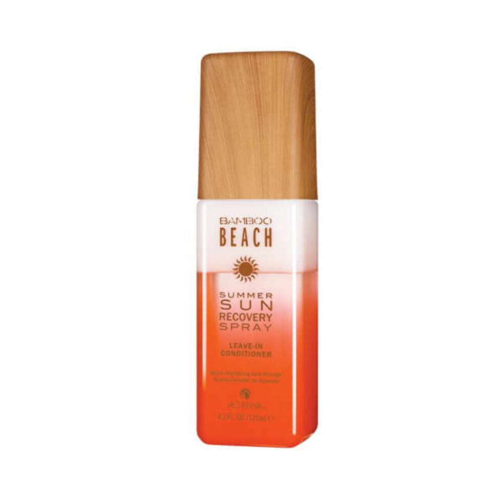 Recovery spray fra Alterna Haircare |242,-| https://no.lookfantastic.com/alterna-bamboo-beach-summer-sun-recovery-spray-125ml/11109286.html