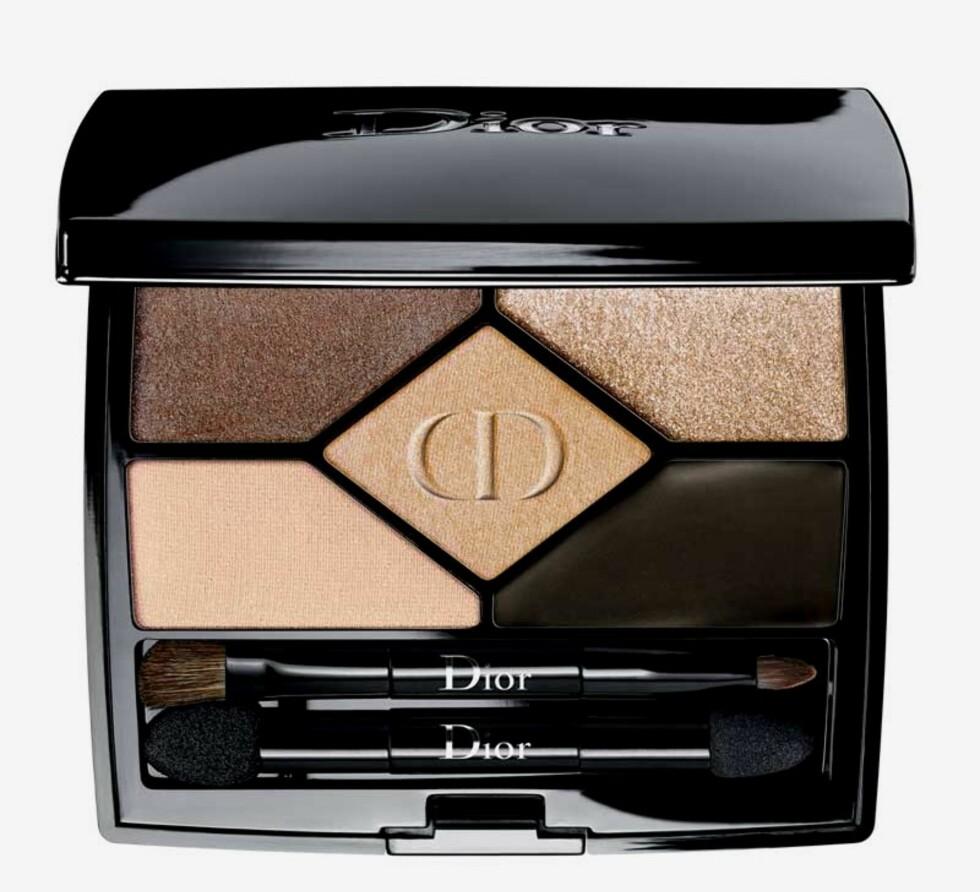 Øyeskygge fra Dior |575,-| https://www.kicks.no/makeup/oyesminke-/oyenskygge/5-couleurs-eyeshadow-008-smoky-design