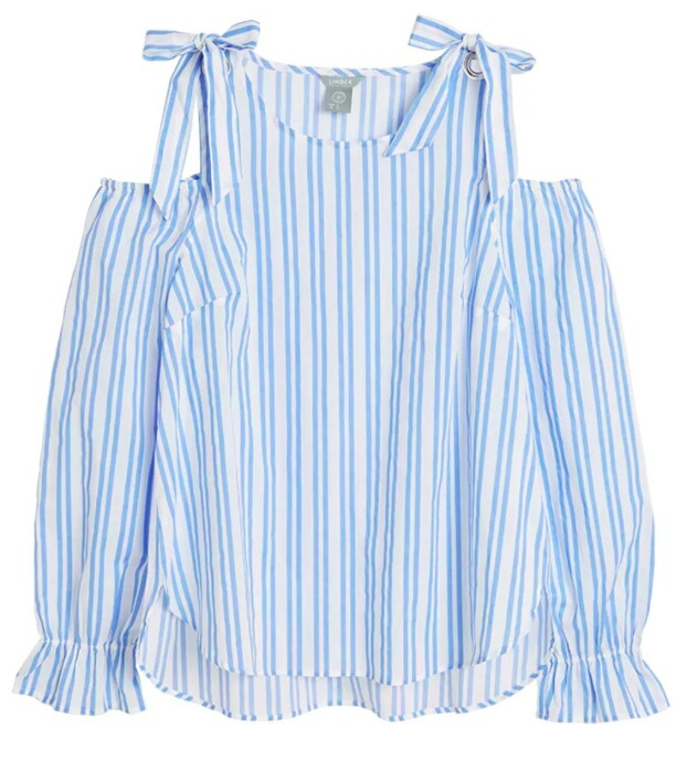 Topp fra | Lindex | https://www.lindex.com/no/dame/sustainable-choice/7706659/Bluse-med-bare-skuldre/