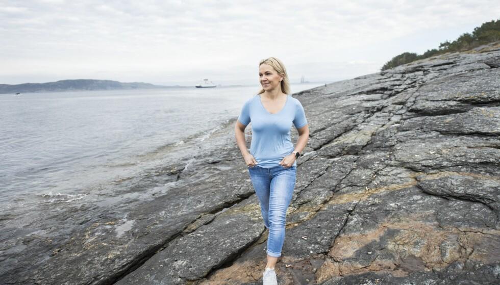 Et av de første målene Janne satte seg, var at hun ville tilbake og lede den gruppetimen hun hadde da slaget rammet. Og det klarte hun. Foto: Monica Larsen