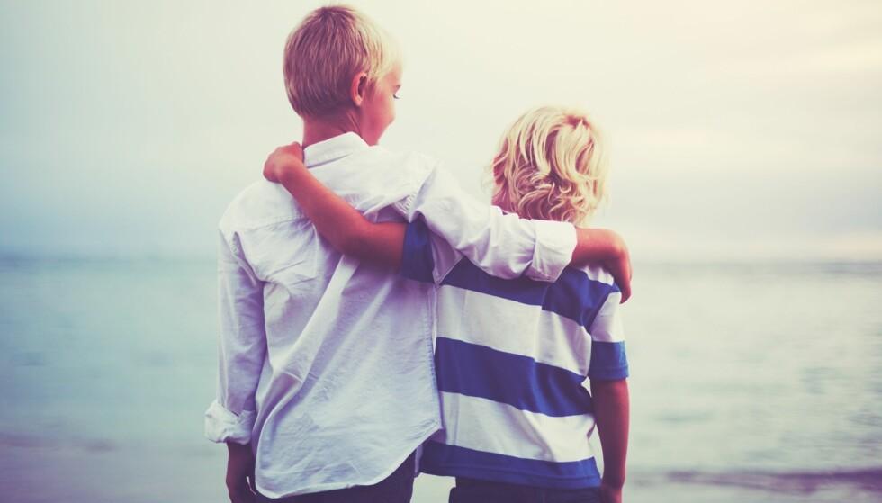 BARN MED AUTISME: Søsken til barn med autisme synes ofte det er vanskelig å fortelle om hvor krevende hverdagen er. FOTO: NTB Scanpix