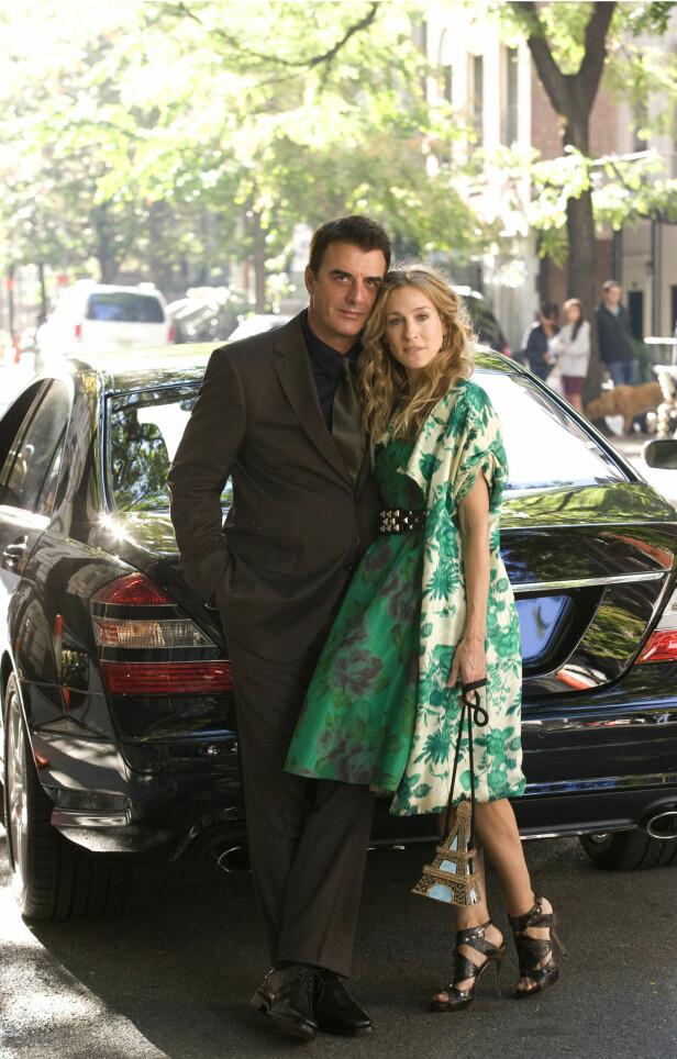 SKO OG MENN: Carrie Bradshaw var opptatt av menn - og sko i serien «Sex og singelliv». FOTO: SCANPIX
