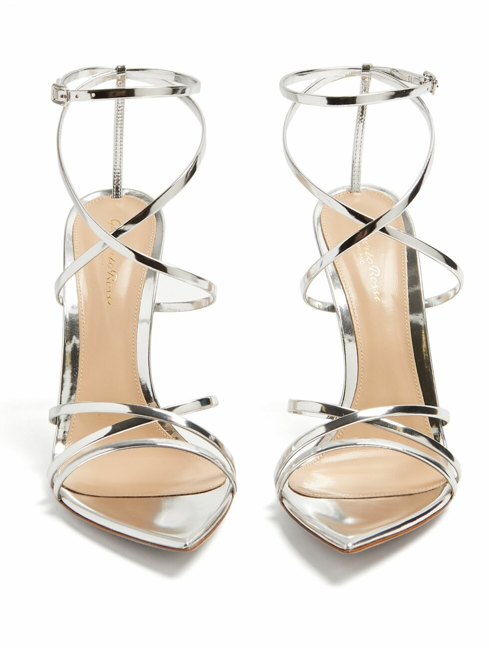 Sko fra Gianvito Rossi |3555,-| https://www.matchesfashion.com/intl/products/Gianvito-Rossi-Kim-100-leather-sandals--1205269