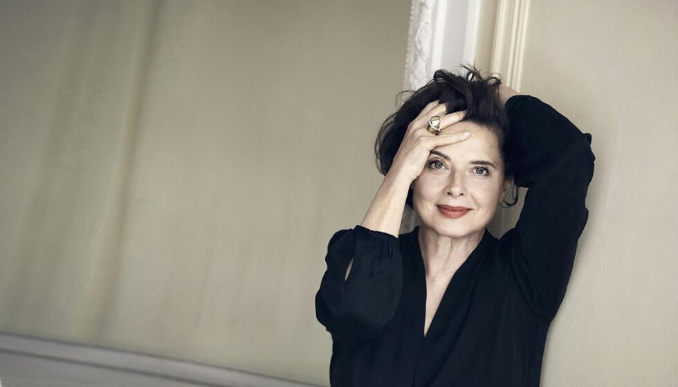 ISABELLA ROSSELLINI: Isabella Rossellini synes «antiage» er et stygt ord. – Vi blir jo alle sammen gamle, sier skuespilleren og modellen. FOTO: Peter Lindbergh