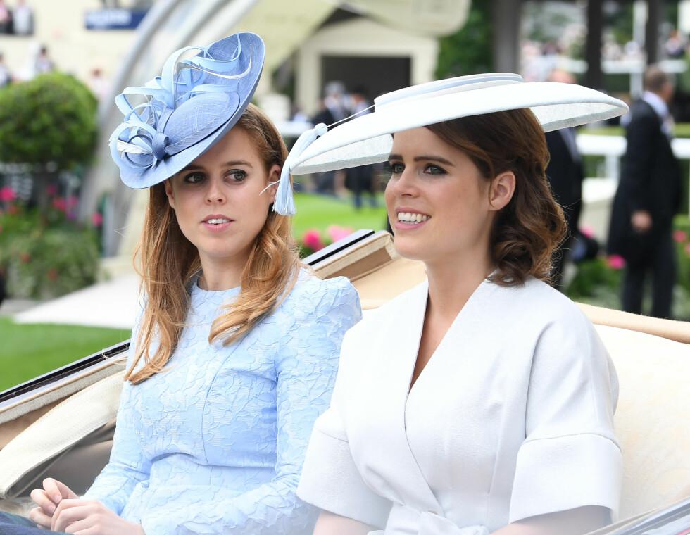 Prinsesse Beatrice og prinsesse Eugenie