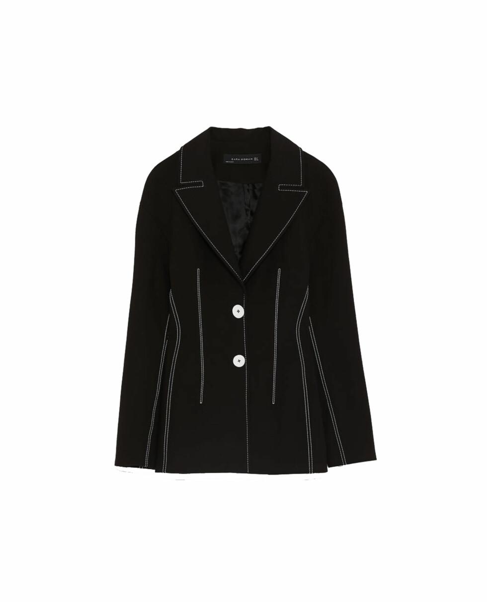 Blazer fra Zara |500,-| https://www.zara.com/no/no/blazer-med-attersting-i-kontrast-p02250694.html?v1=5689532&v2=828222