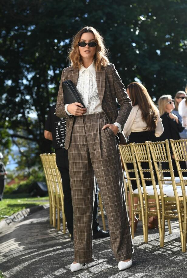 RUTETE BLAZER: Denne jakken er superhot og blir nesten enda kulere når den kombineres med en matchende bukse. Foto: Scanpix