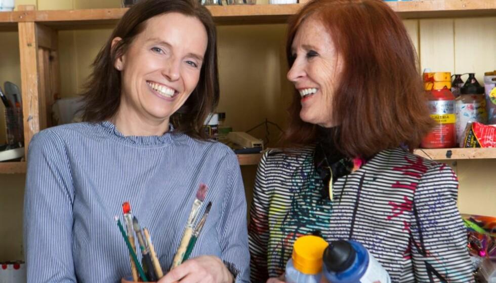 SPISEFORSTYRRELSER: Kristin slet med spiseforstyrrelser i mange år. – Åse reddet ikke bare livet mitt. FOTO: Ellen Jarli
