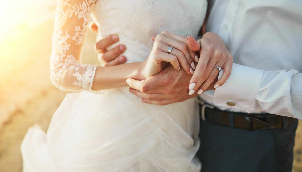 BEDRE HELSE: Gifte har bedre både fysisk og psykisk helse. FOTO: NTB Scanpix