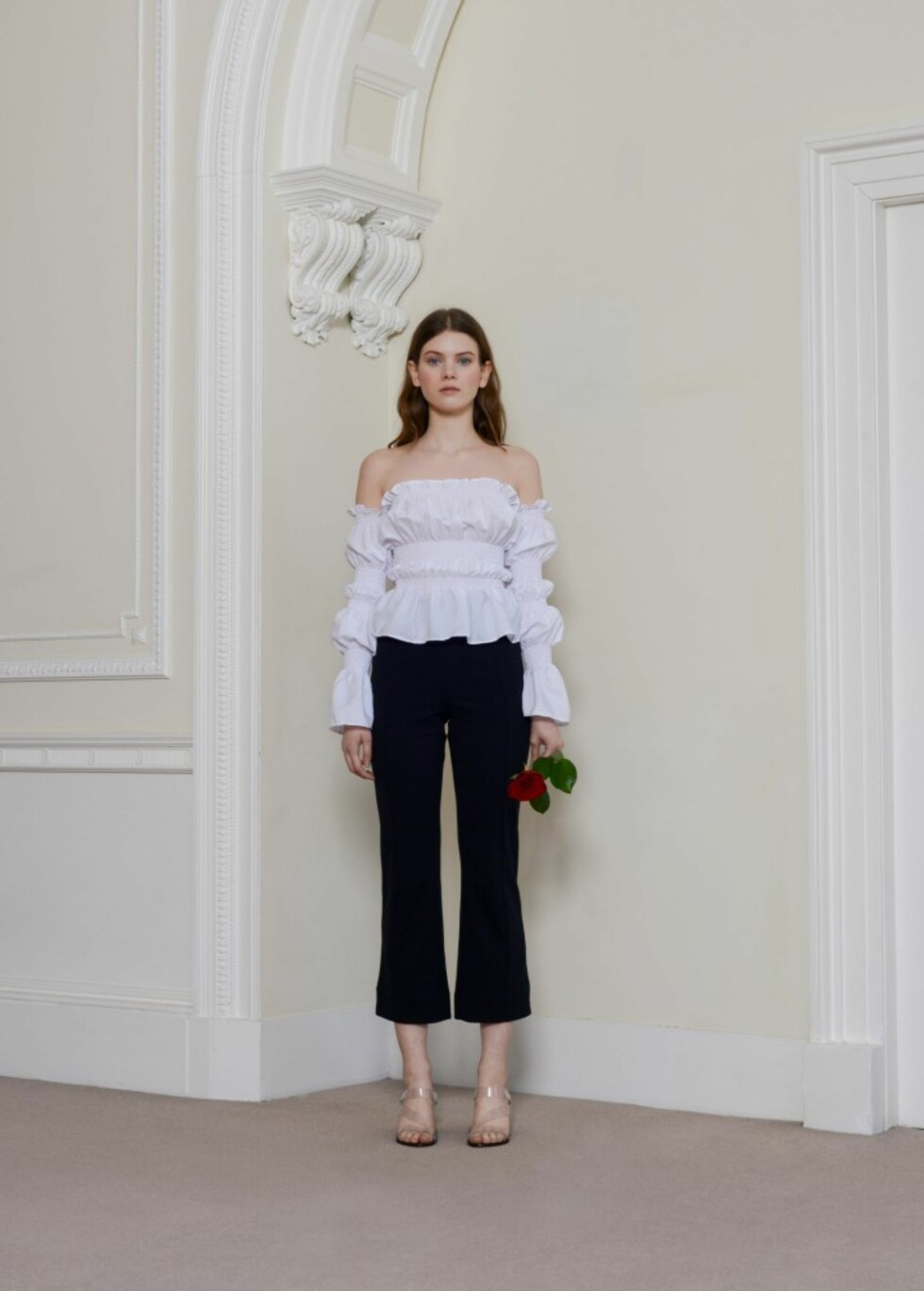 Hvit topp fra Olivia Rose the Label |755,-| https://oliviarosethelabel.com/shop/the-jemima-top-white/