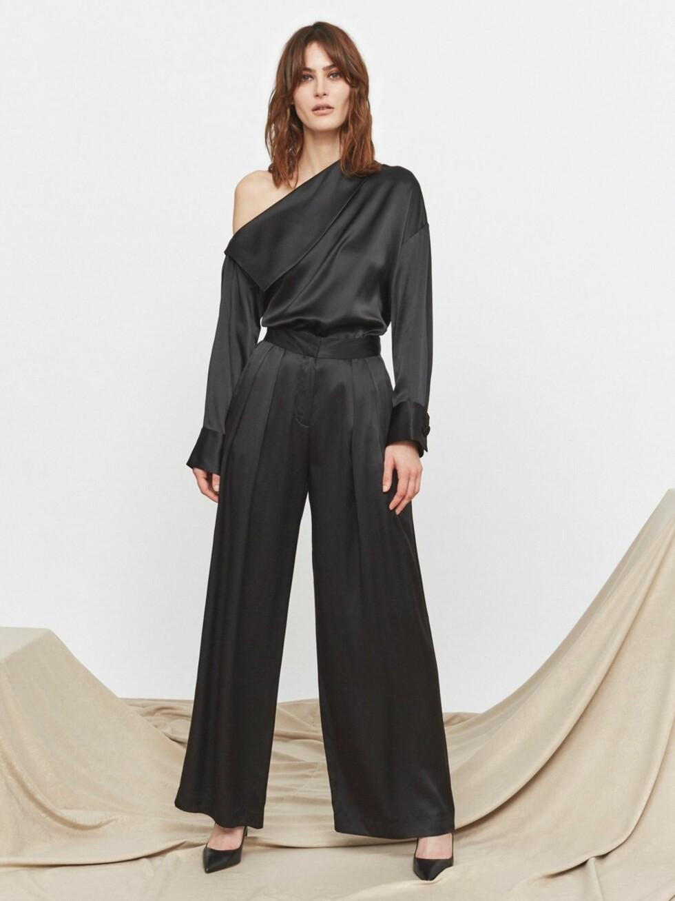 Bukse fra Kitri Studio |1660,-| https://kitristudio.eu/collections/trousers-and-skirts/products/marina-silk-wide-leg-trouser