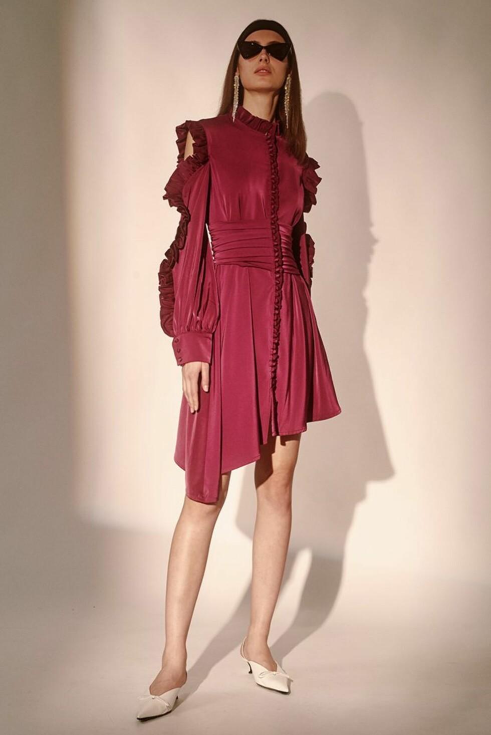 Kjole fra Style Mafia |1427,-| https://stylemafia.us/collections/new-arrivals/products/rayne-dress-purple-ruffled-sleeves#.WzNn3VUzbRZ
