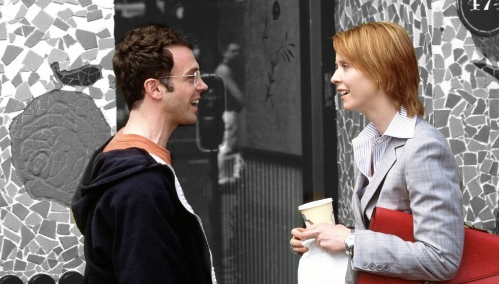 DATING OG STATUS: Er det sånn at noen menn føler seg truet av kvinner som er suksessfulle i jobben? FOTO: HBO