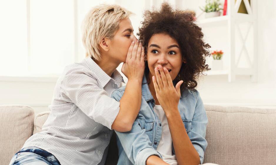 HEMMELIGHETER: Holder du mye hemmelig i redsel for hva folk vil synes om deg? Dette kan være tyngende og hindre deg fra å være helt fri. FOTO: NTB Scanpix