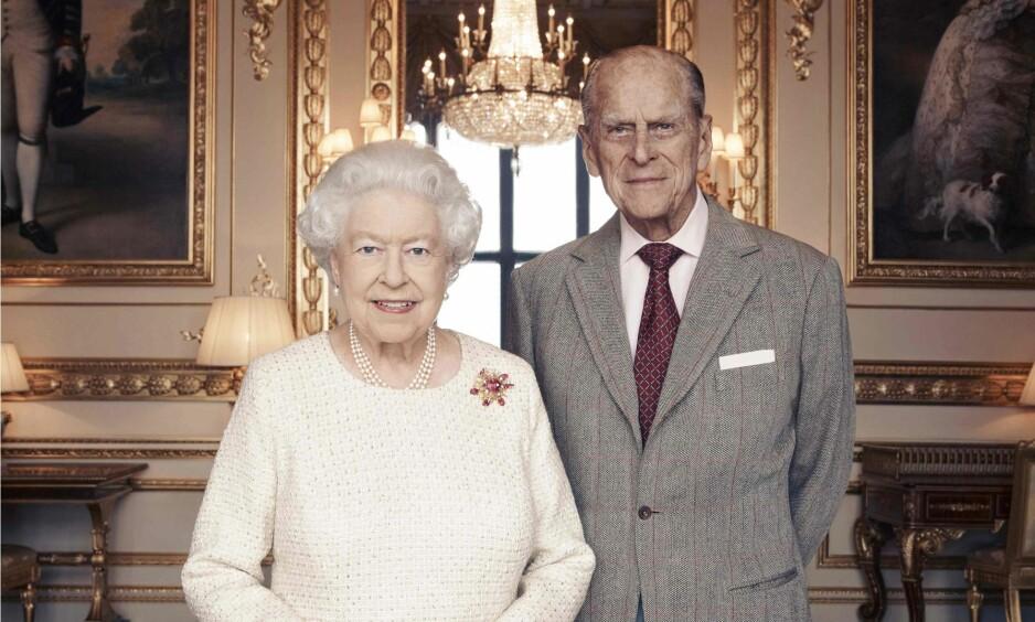 PRINS LOUIS' DÅP: Dronningen og prins Philip deltar ikke i dåpen til oldebarnet. Foto: Scanpix