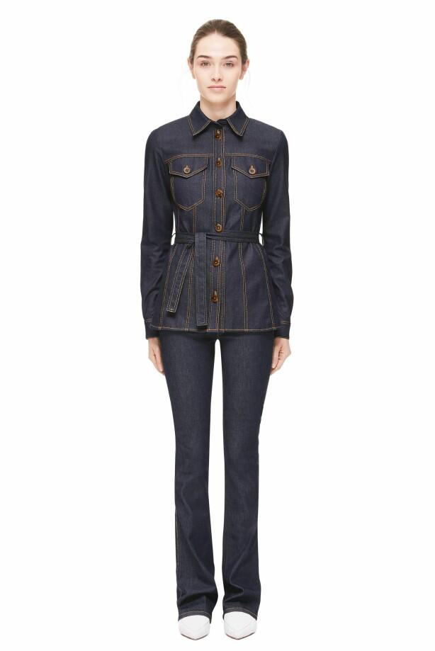 VICTORIA BECKHAM JEANS: Jeansen fra kolleksjonen hennes koster nesten 3000 kroner. Foto: Produsenten