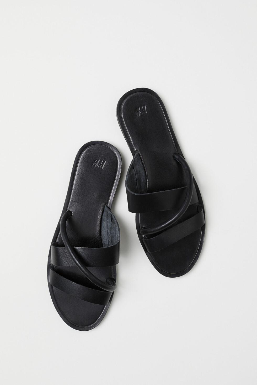 Sandaler fra H&M  399,-  http://www2.hm.com/no_no/productpage.0632651001.html
