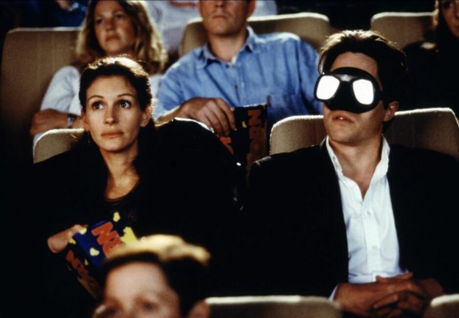 FILMTIPS: Klar for filmkveld, men vet ikke hva du skal se? Sjekk ut våre tips! Foto: Skjermdump fra Notting Hill