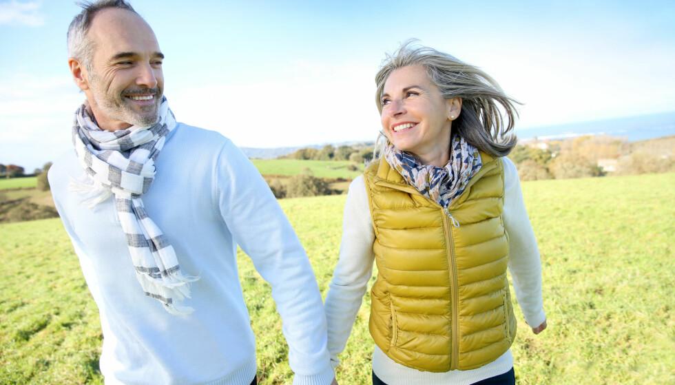 LITEN BETYDNING: Vi overvurderer kanskje hvilken betydning det å bli eldre har for hvordan vi føler oss. FOTO: NTB Scanpix
