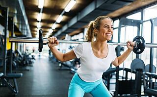 - På en måte kan du si at rumpemusklene sovner og slutter å fungere