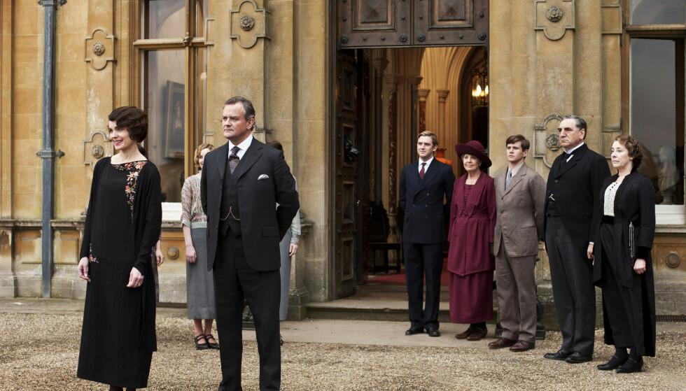 «DOWNTON ABBY»: Downton Abbey-gjengen blir å se i ny spillefilm om forhåpentligvis ikke så altfor lenge! FOTO: NTB Scanpix