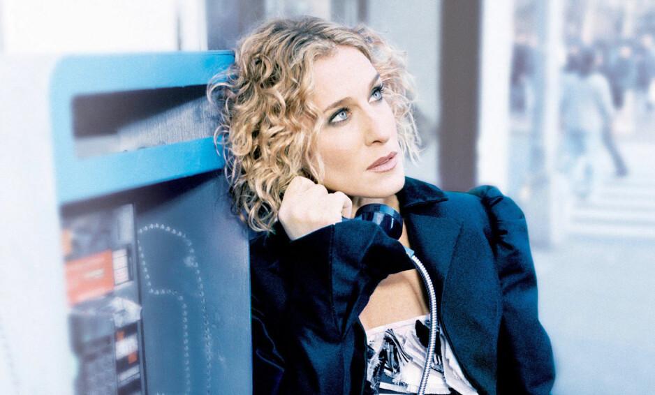 SOMMERTRENDER: Moteikonet Carrie Bradshaw, spilt av Sarah Jessica Parker (53) i serien Sex & The City, brukte flere av plaggene som er superhotte akkurat nå! FOTO: NTB Scanpix