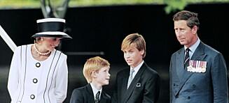 Prinsesse Diana nektet Charles å bestemme fornavn på sønnene
