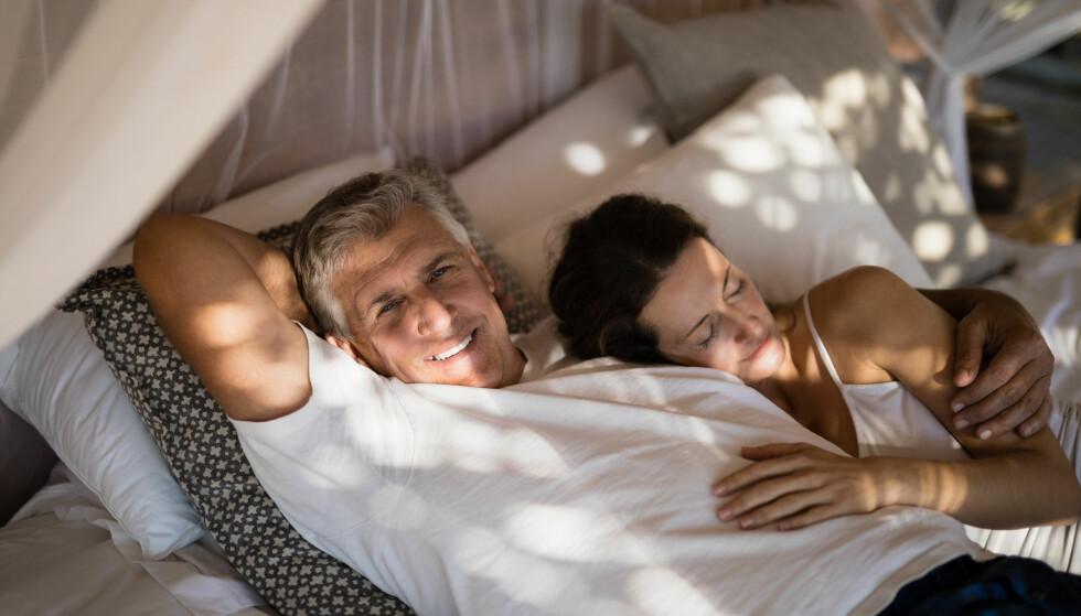 ELDRE HAR ET AKTIVT SEXLIV: - Norske besteforeldre onanerer mer og har mer sex enn vi hadde forestilt oss, sier ekspert. FOTO: NTB Scanpix