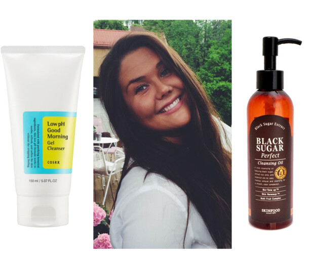 <strong>DOBBELRENS:</strong> Fra venstre: Low ph Good Morning Gel Cleanser fra COSRX via Skinsecret.no, kr 159. Black Sugar Perfect Cleansing Oil, kr 219 via Skinsecret.no.