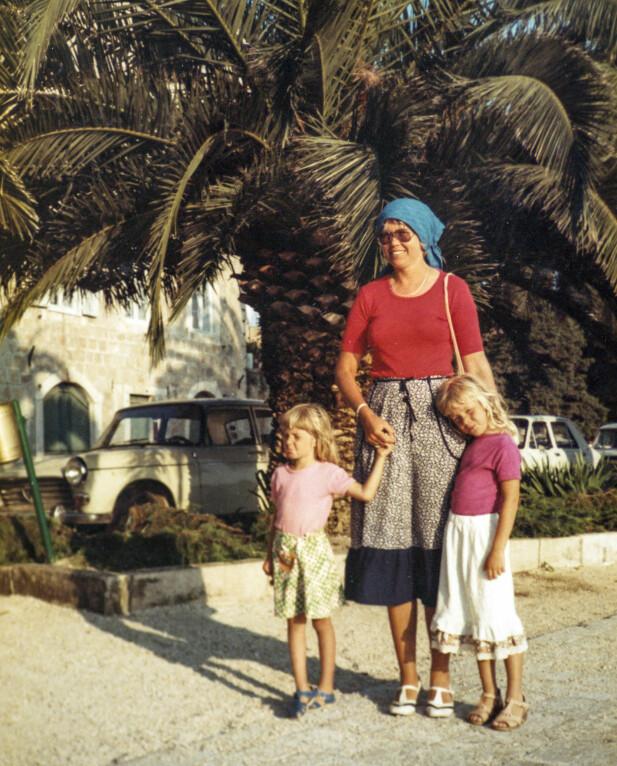 – Jeg tror mors foreldreprosjekt var å gjøre oss så kjærlighetsfulle at vi ble trygge nok til å gå ut i verden for å finne vår egen flokk, sier Astrid Bjørkeng. FOTO: Privat