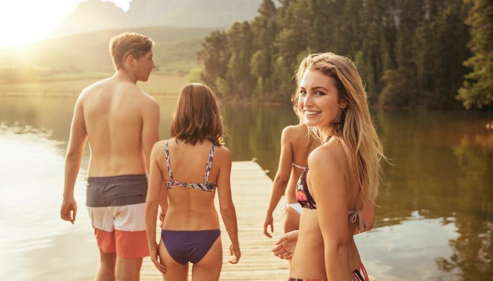 BADEVANNSKVALITET: Etter tidenes sommer har badevannet i Norge blitt mer oppvarmet enn normalt. FOTO: Scanpix