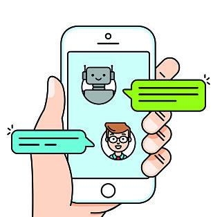 <strong>CHATBOT:</strong> De siste årene har det kommet flere chatboter på markedet. FOTO: NTB scanpix
