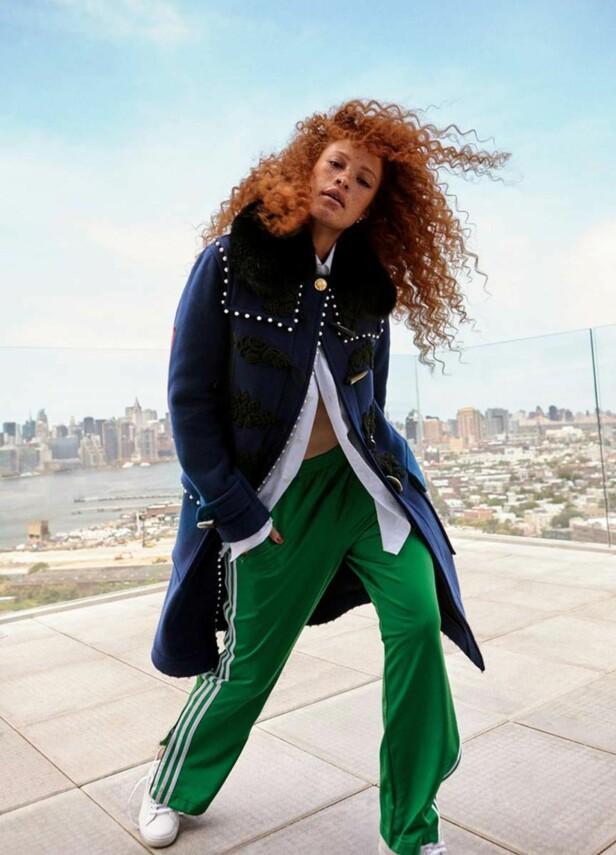 SUKSESS: Sabina Karlsson gjør det bra som modell på internasjonal basis med sitt unike, vakre utseende. Foto: JAG Models