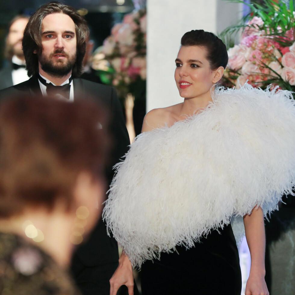 BRYLLUP: Planen var egentlig at Dimitri og Charlotte skulle ha giftet seg denne sommeren, men bryllupet er utsatt som følge av graviditeten. FOTO: NTB Scanpix