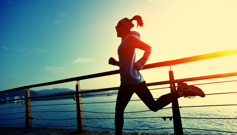 <strong>TRENING:</strong> Trening kan være god hjelp mot angst - av flere grunner. FOTO: NTB Scanpix
