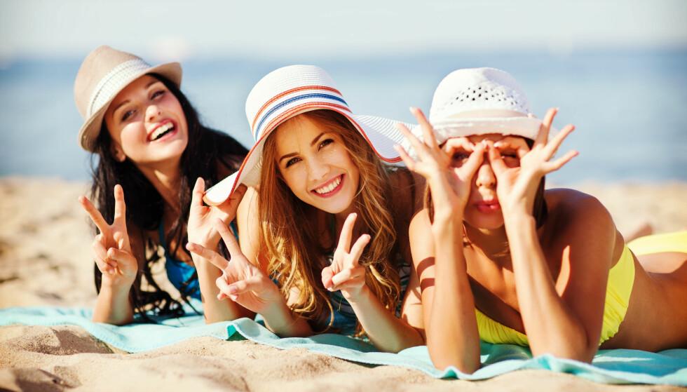 SOMMERFARGE: Ta grep slik at huden din holder seg solbrun utover høsten! FOTO: NTB Scanpix