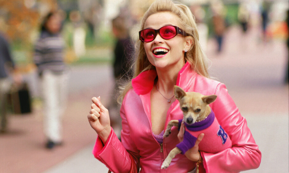 LEGALLY BLOND 3: Det er bekreftet at Reese Witherspoon gjør comeback i rollen som Elle Woods i en tredje Lovlig blond-film! FOTO: NTB Scanpix
