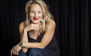 Trente syv dager i uken for den krevende rollen som kunstløper-ikonet Sonja Henie