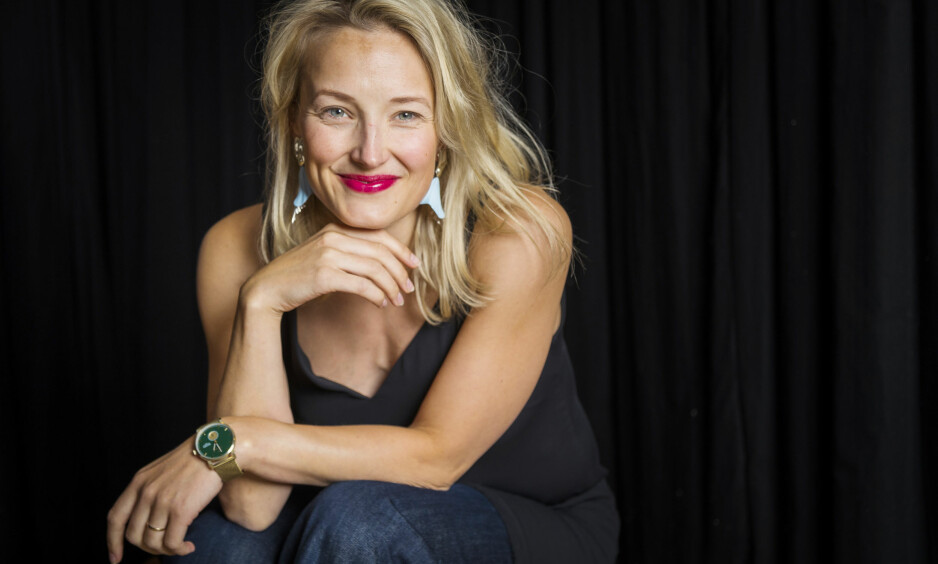 SONJA HENIE FILM: Skuespiller Ine Marie Wilmann portretterer kunstløper Sonja Henie i kinofilmen «Sonja». Den har premiere første juledag. FOTO: Heiko Junge / NTB scanpix