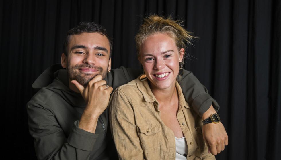DANSEDUO: Vi møtte Fabian og Lisa i forbindelse med promoteringen av filmen Battle i august. FOTO: Heiko Junge / NTB scanpix