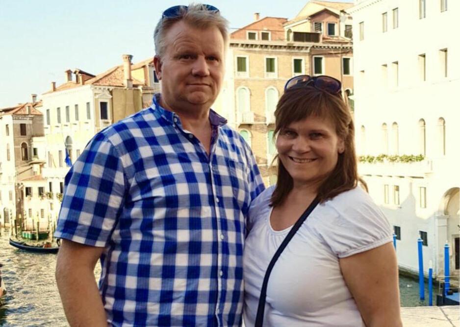 VERTSFAMILIE: Datteren til John og Kari, Vilde, ønsket at de skulle være vertsfamilie etter at hun selv hadde vært på utveksling. Det ble en god opplevelse for hele familien. FOTO: Privat