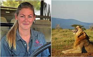 Alexandra (28) fulgte drømmen om å bli safariguide i Afrika