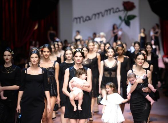Dolce & Gabbana 2015 Foto: Scanpix