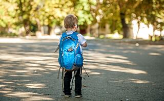 Den første skoledagen