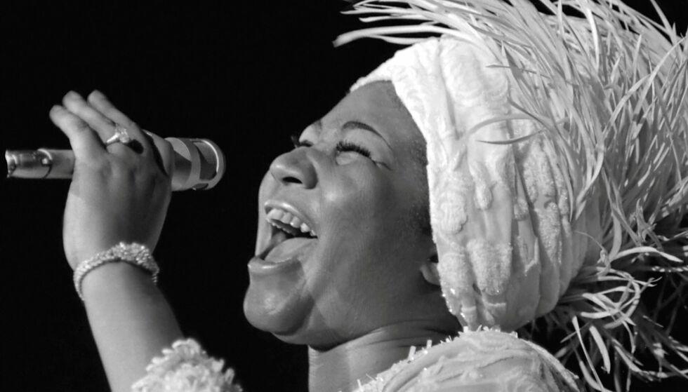 ARETHA FRANKLIN: Nå skal det lages film om den avdøde sangeren. FOTO: NTB Scanpix
